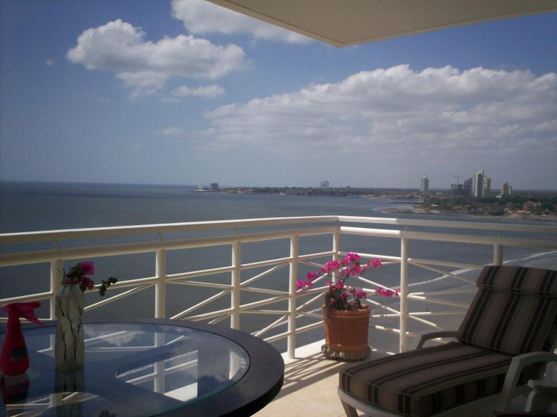 Ocean View From Balcony Towards Coronado - Unsurpassed Luxury - Directly On Malibu Beach - Panama - rentals