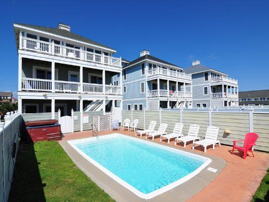Floor 1: Pool - 13 x 25 - JR36: Bottoms Up - Nags Head - rentals