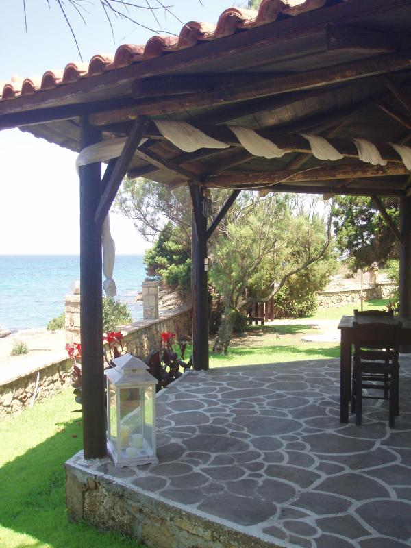 PAVILLION BY THE SEA - Apartment with spectacular view on the Ionian Sea - Leventochori - rentals