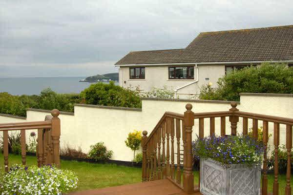 Decking and sea view - Cotterdale Apartment - your home away from home - Onchan - rentals