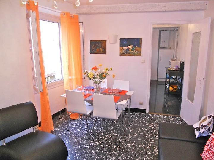 living and dining area - Cote D'Azur Apartment Rental - Nice - rentals