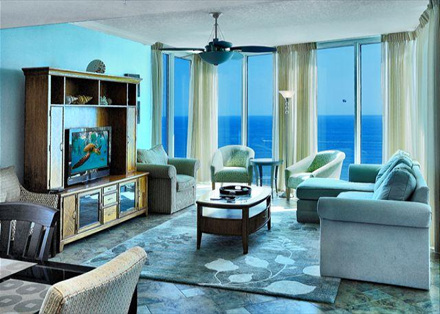 BEACHFRONT & BEAUTIFUL FOR 8! WOW VIEWS! OPEN 8/23-30! NOW 10% OFF! - Image 1 - Panama City Beach - rentals
