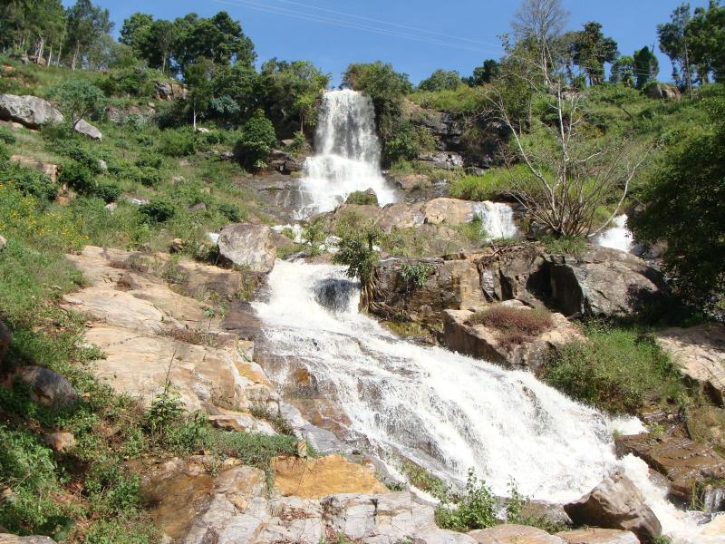 One of the water fall - O'land plantation stay - Tamil Nadu - rentals