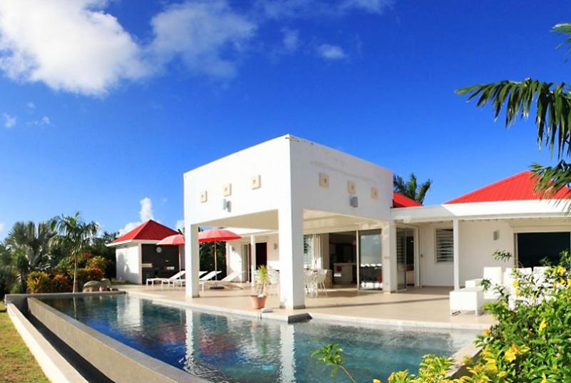 St. Martin Villa 87 The Luxurious Villa Overlooks The Caribbean Sea And Offers Gorgeous Sunset Views. - Image 1 - Terres Basses - rentals