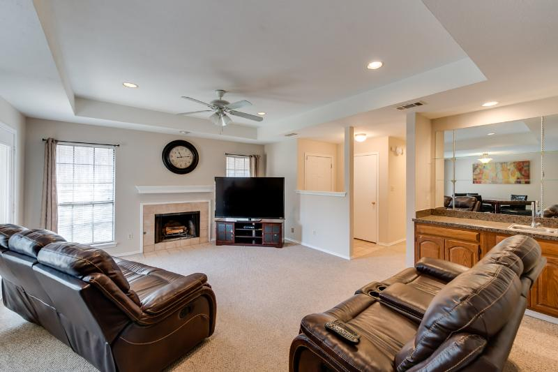 Living Room - Jackie's Place - Dallas - rentals