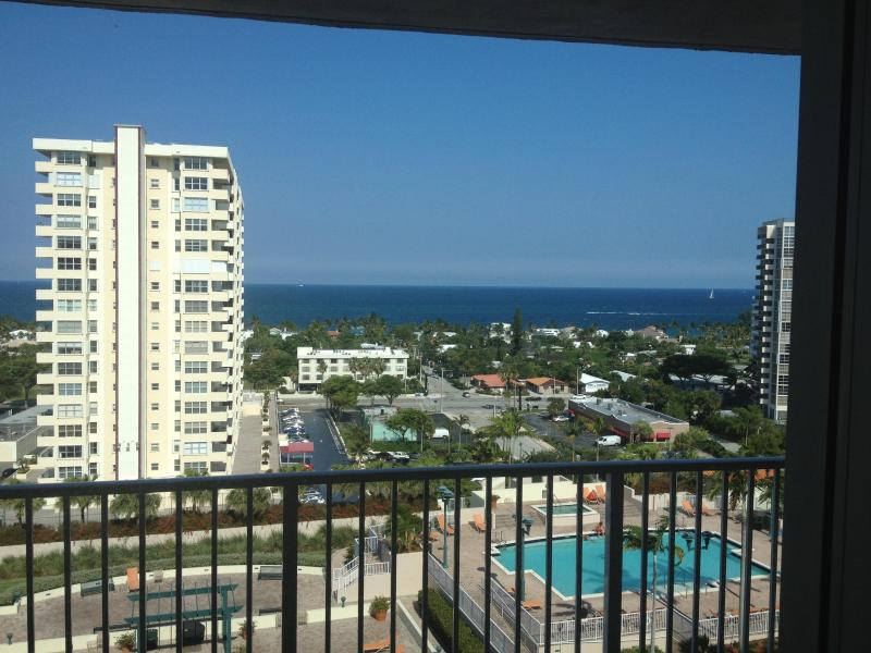 What a view!  Walk to Beach! - Walk to Everything!  Ocean View Condo w/ Huge Balcony! - Fort Lauderdale - rentals