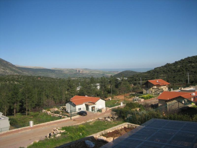 view from the balcony - Armon and Sara's Place - A room with a view! - Galilee - rentals