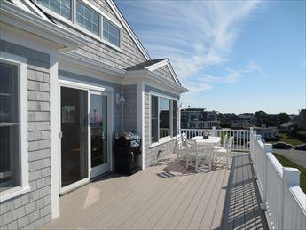 Deck with grill and dining - SURF DR NEW HOME 115319 - Falmouth - rentals