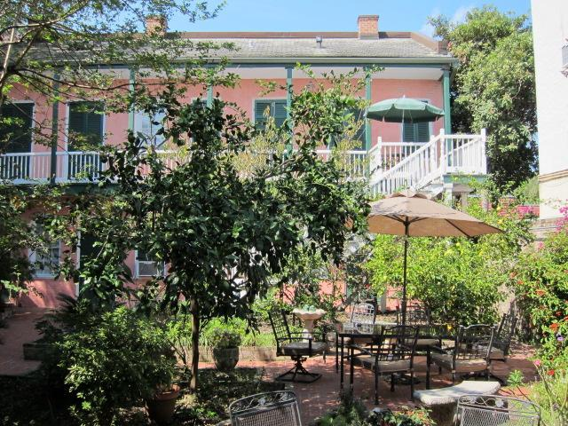 From courtyard, studio upper right - Balcony Studio, Heart of the French Quarter - New Orleans - rentals