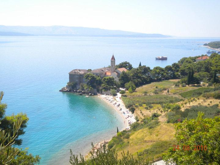 View from the apartment - Eastern from paradise - Bol, Brač - Bol - rentals