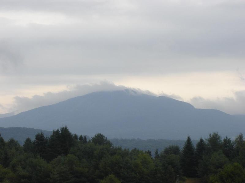 One of the ever changing views of Burke Mountain... - Luxury Bunkhouse - West Burke - rentals