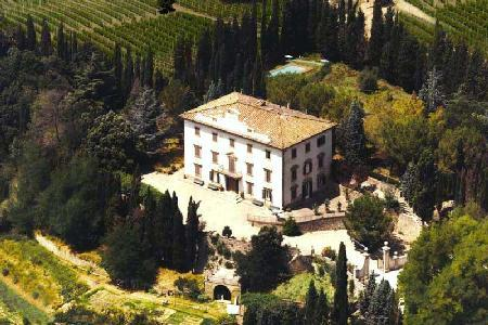 Restored 18th century Villa Vianci, hilltop above old town of Staggia Senese with pool - Image 1 - Siena - rentals