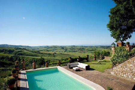 Villa Penelope offers estate grown fruit and vegetables, pool & pool house - Image 1 - Montepulciano - rentals