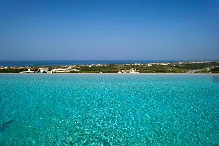 Villa Filira- overlooking olive groves with a 360° ocean view & infinity pool - Image 1 - Chania - rentals