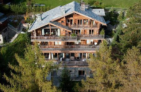 Dent Blanche - Impressive home in the heart of the village with spa & cinema room - Image 1 - Verbier - rentals