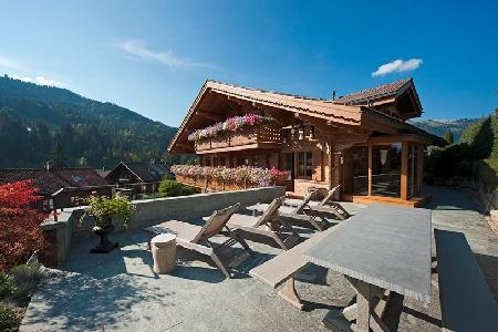 Etesian - Extraordinary property near village center with spa & entertainment room - Image 1 - Gstaad - rentals
