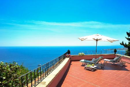 Smeraldo - Beautiful villa near main street with panoramic sea views & lush Mediterranean garden - Image 1 - Taormina - rentals