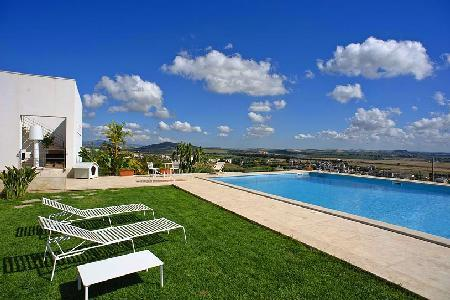 Villa Trapani - Hillside villa, private pool, expansive grounds & gorgeous views - Image 1 - Trapani - rentals