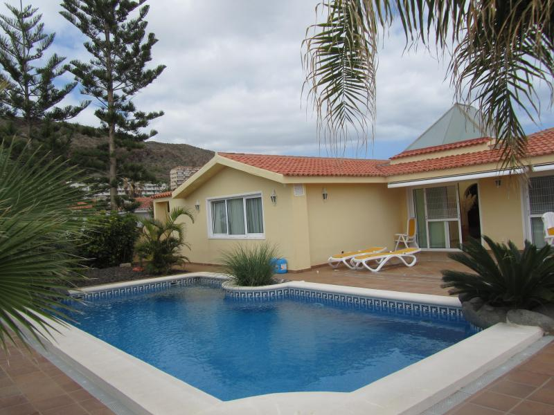 Villa Standing Palm Mar With Heated Pool - Image 1 - Masca - rentals