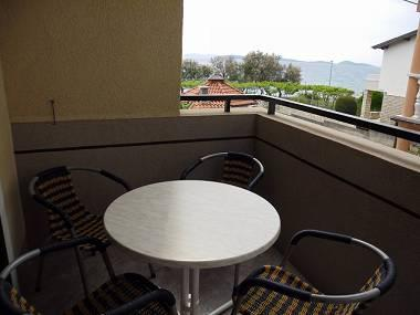 A3(2+2): covered terrace - 7255 A3(2+2) - Vodice - Vodice - rentals
