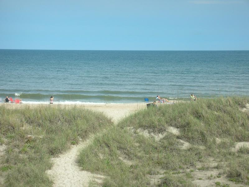 100 yards to Ocean through dunes - Walk-in Amelia Island Beachside Villa - Amelia Island - rentals
