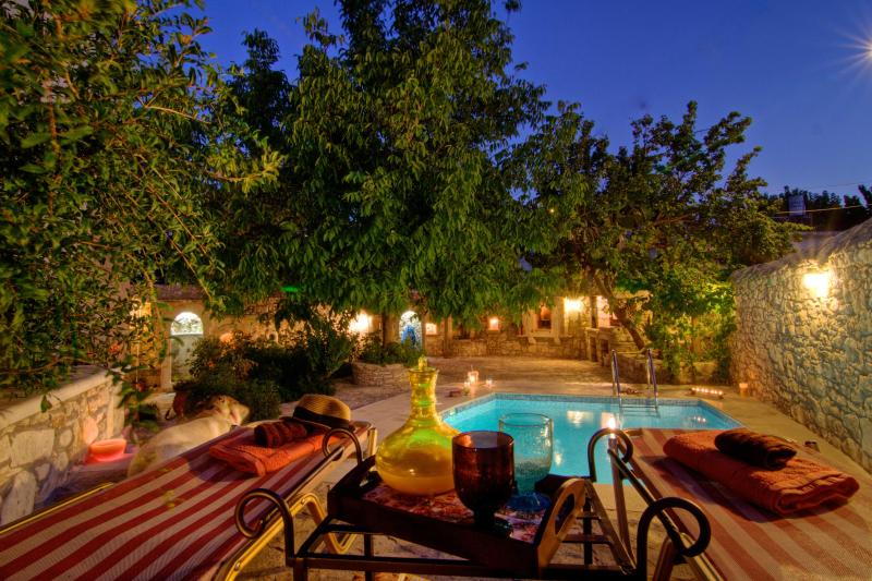Pool - Luxurious Villa Ultimate Privacy-Pool & Garden! - Rethymnon Prefecture - rentals