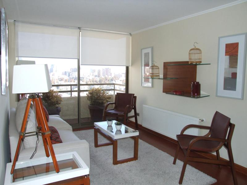 living - Bellavista Rent Apart, tourist center in Santiago - Santiago - rentals