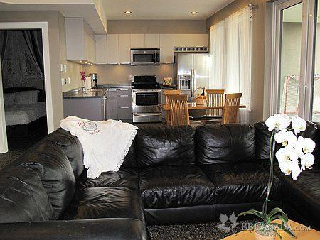 Living room  - Ocean view, spacious and private one bedroom suite - White Rock - rentals