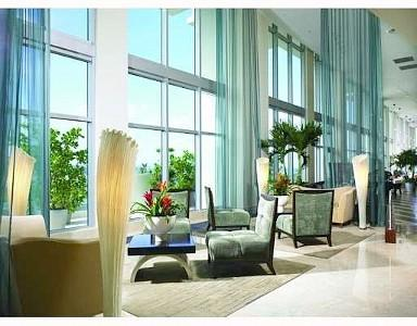Lobby - 2BR Ocean Front Beach Furnished at Marenas Resort - Sunny Isles Beach - rentals