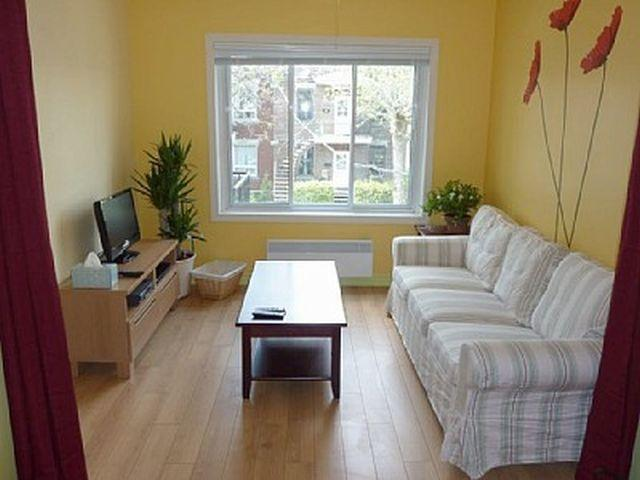 Fully furnished apartment located in a quiet neighborhood in 5 min walk to metro station - Image 1 - Montreal - rentals