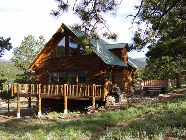 Silver Tree Home - Mountain Log Home Near Rocky Mountain National Prk - Estes Park - rentals