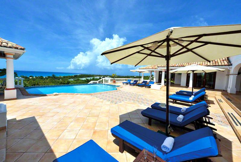 St. Martin Villa 57 Gorgeous Sunset And Ocean Views. Ideal For Family Vacation Or For A Large Group Of Friends. - Image 1 - Terres Basses - rentals
