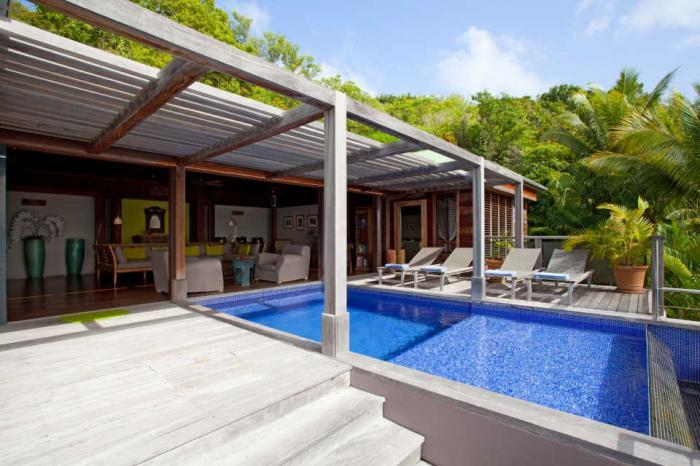Samsara at Pointe Milou, St. Barth - Ocean View, Pool, Amazing Sunset View - Image 1 - Lorient - rentals