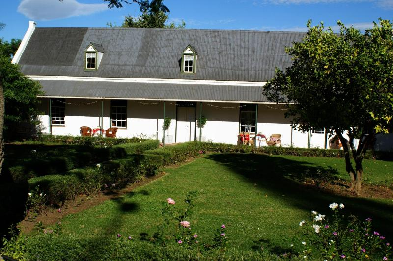 Front of the guesthouse - Elianthe's B & B - Swellendam - rentals