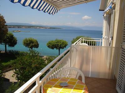 Apartment for 2 persons near the beach in Krk - Image 1 - Malinska - rentals
