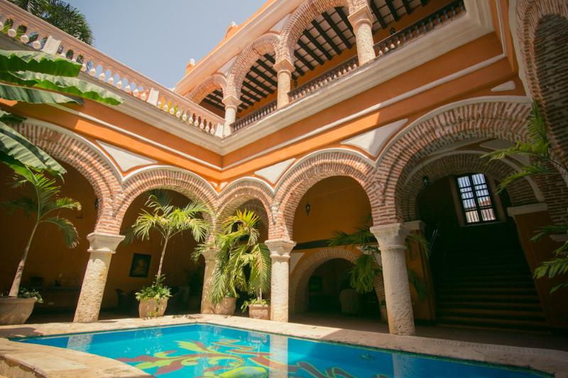 9 Bedroom Colonial Home in Old Town - Image 1 - Cartagena - rentals