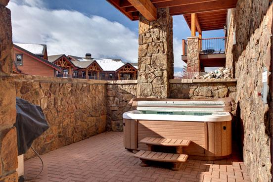 Emerald Lodge Patio - 5113 - 5113 Emerald Lodge, Trappeurs - Steamboat Springs - rentals