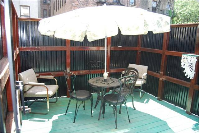balcony - George Washington  Suite - Brooklyn - rentals