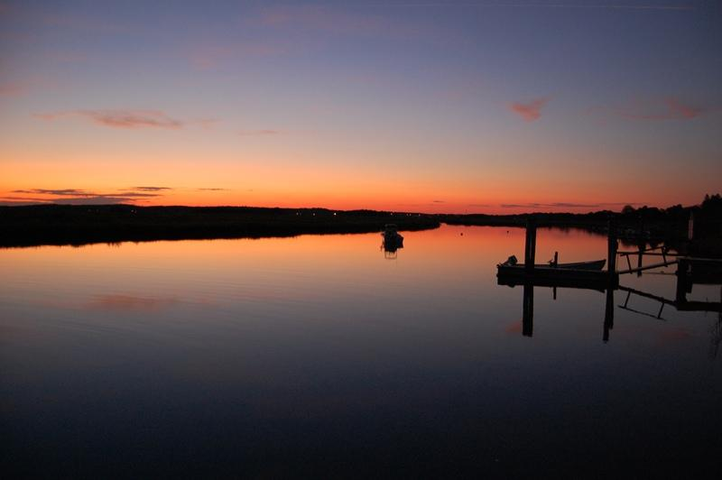 Dock view - Lighthouse Watch - Old Lyme - rentals
