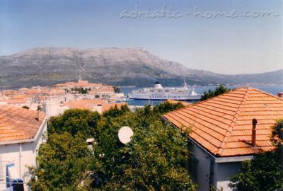 View - Studio apartment Julia - Korcula - rentals