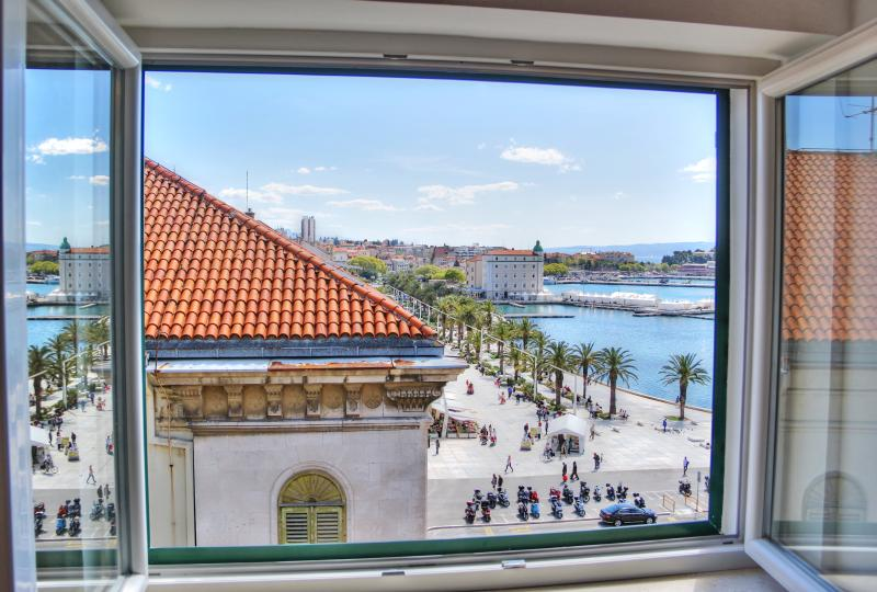 room 1 view - Centrally located penthouse with stunning view - Split - rentals