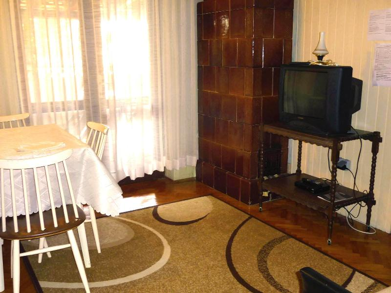 The living room is connected to the terrace and all the other rooms. - Cozy Apartment for Four - WiFi Beach City - Porec - rentals