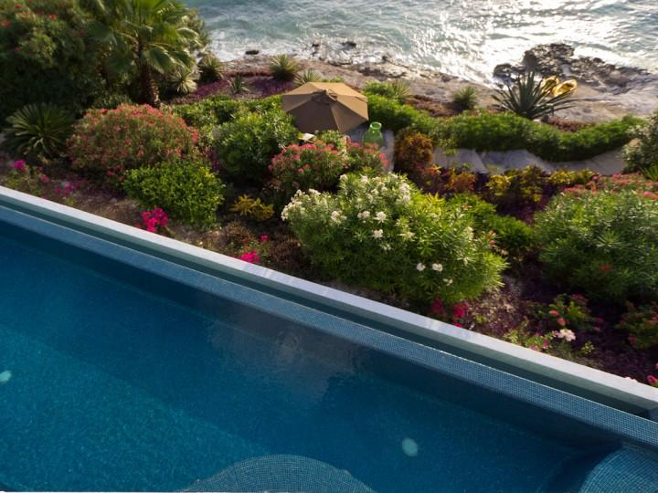 Ocean View from Pool - Villa de la Vida-Private Waterfront Paradise - Isla Mujeres - rentals