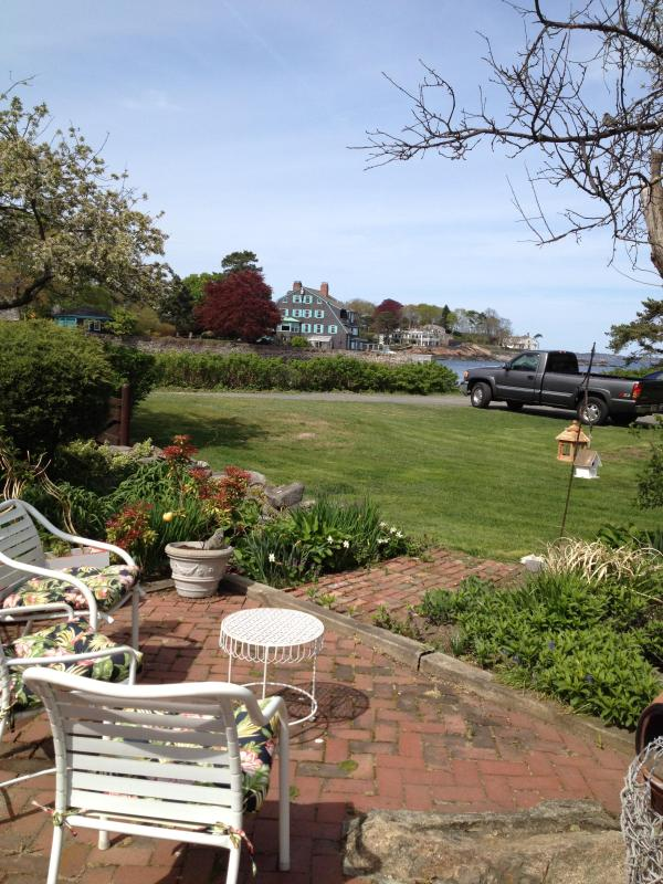 View from Backyard - Antique Marblehead Seaside Home - Marblehead - rentals