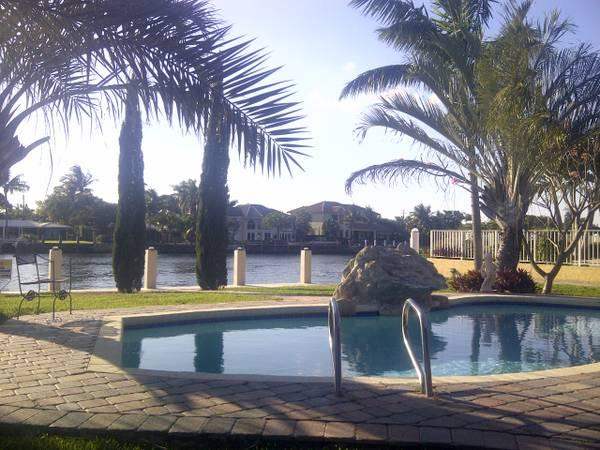 Paradise in your own back yard on the Intra Coastal waterway - Gorgeous Hm Directly On The Inter-coastal Waterway - Florida - rentals
