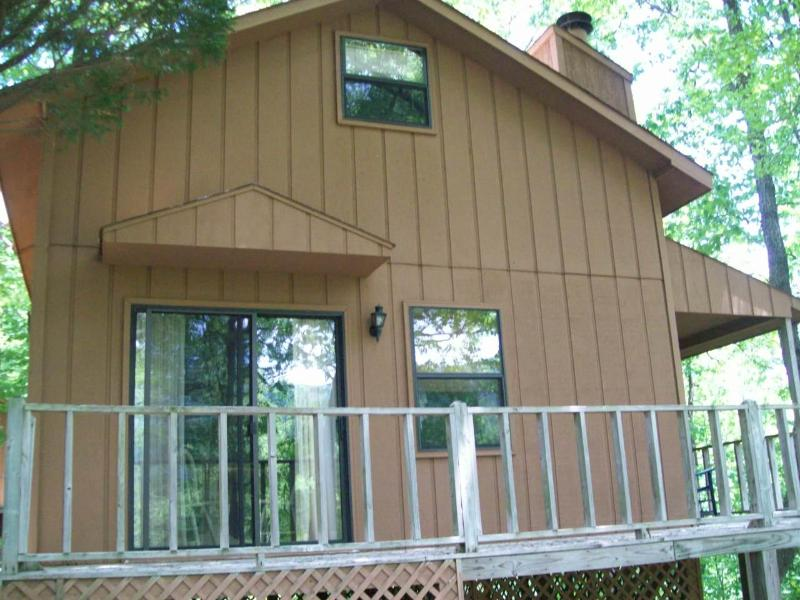 Front - Helton Falls Lodge-across from Vogel State Park - Blairsville - rentals