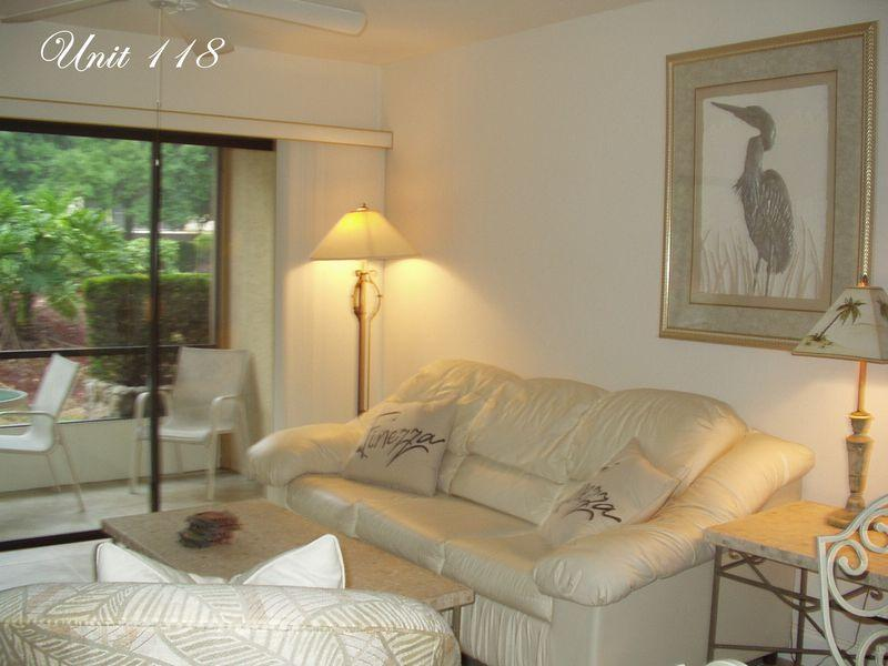 118- Living Room - Park Shore Resort: Unit 118 - Naples - rentals
