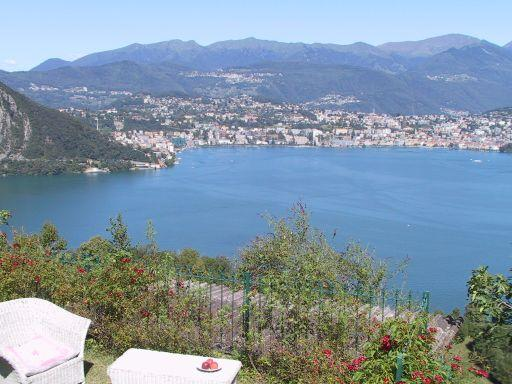 Lake view - Casa Gialla Ticino lake of Lugano in Switzerland - Lugano - rentals