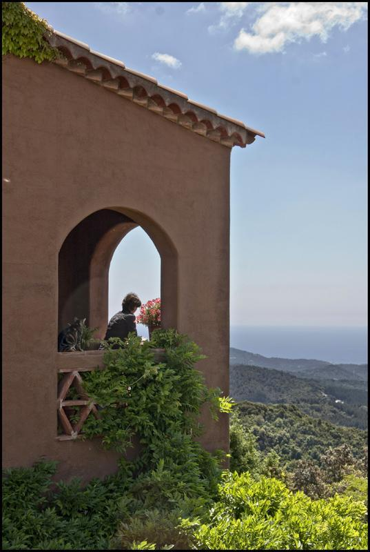 Sea views from the terrace - In the mountains, with fantastic sea views - World - rentals