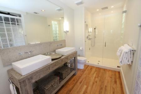 Kohler Rain Shower and His and Hers Sinks - Bothy 3 - Seaside - rentals